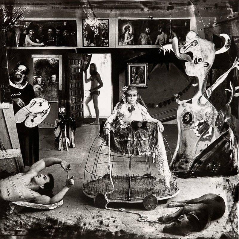 Joel-Peter Witkin Fotógrafo norteamericano reconocido por sus peculiares composiciones que combinan modelos poco comunes, deformidades físicas, cadáveres, animales y objetos encontrados.