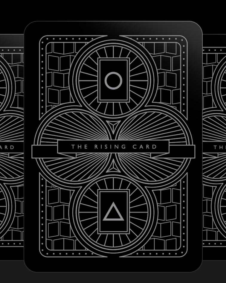The Rising Card Es el proyecto de tarot fotográfico de Walter Costa y es genial para salir del bloqueo de la edición, jugar con narrativas y abrir nuevas posibilidades. ¡A jugar! http://www.therisingcard.com/