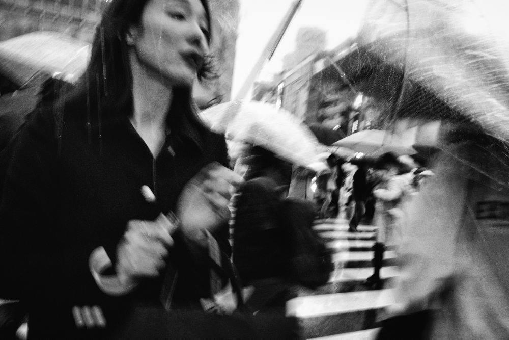 """Tatsuo Suzuki   Con su serie  """"Tokyo Street / Vision and Fascination"""""""
