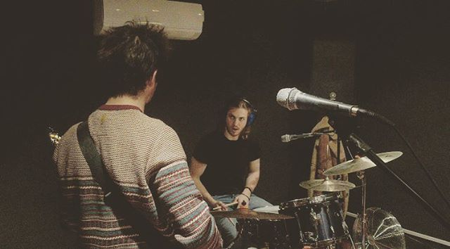 Rehearsing new tunes for 2017. #MISSband - - #newmusic #indie #alternative #songwriter #artist #listen #music #studio #rehearsal #bands #bandphotography #musicphotography