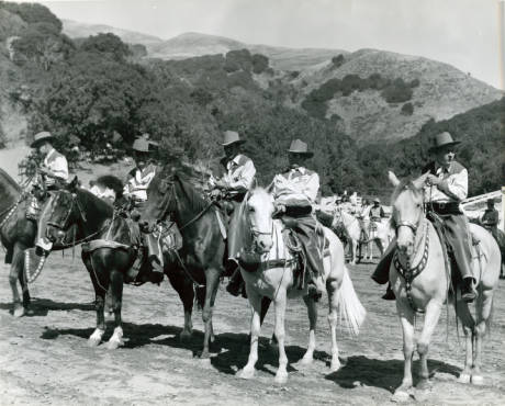 Circle V Ranch, Fairfax, Marin County, California, circa 1950