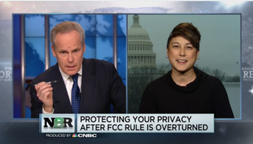 Georgetown Privacy Center's Laura Moy on CNBC's Nightly Business Report, March 31 2017