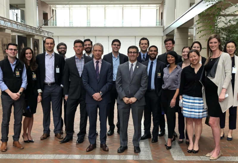 Above: Tech Law Scholars meet with Deputy Undersecretary of Commerce & PTO Director Andrei Iancu and Patent Office staff, April 2018