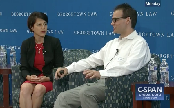 Privacy Center's Laura Moy interviews Prof. Sibren Isaacman about cell site location technology