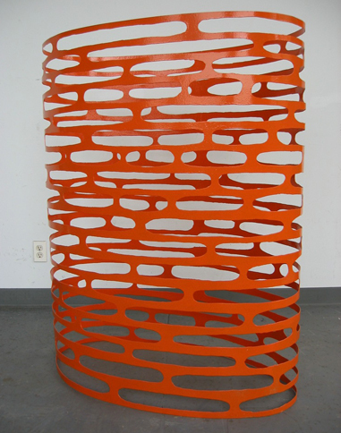 Orange Site, 2002   , 48.5 x 38.5 x 21.5 inches / 123.2 x 97.8 x 54.6 cm