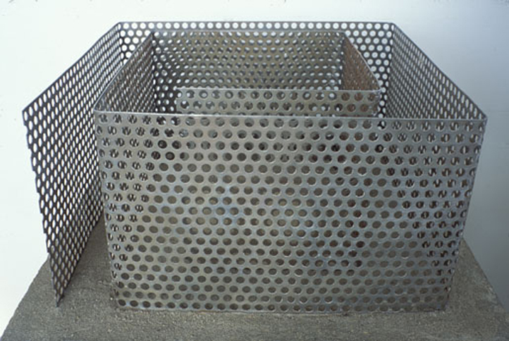 Maze (maquette), 1989,   mild steel, Variable Dimensions