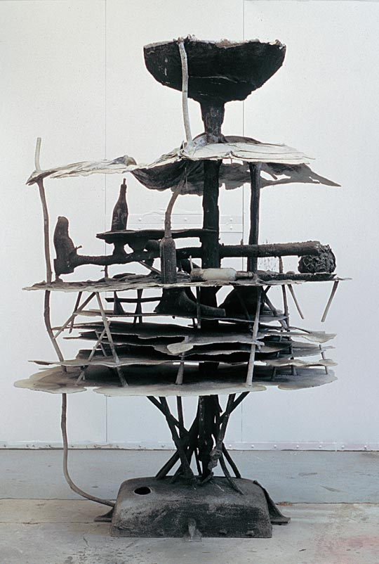 East River Landscape, 1993,   cast aluminum, 96 x 69 x 46 inches / 243.8 x 175.3 x 116.8 cm