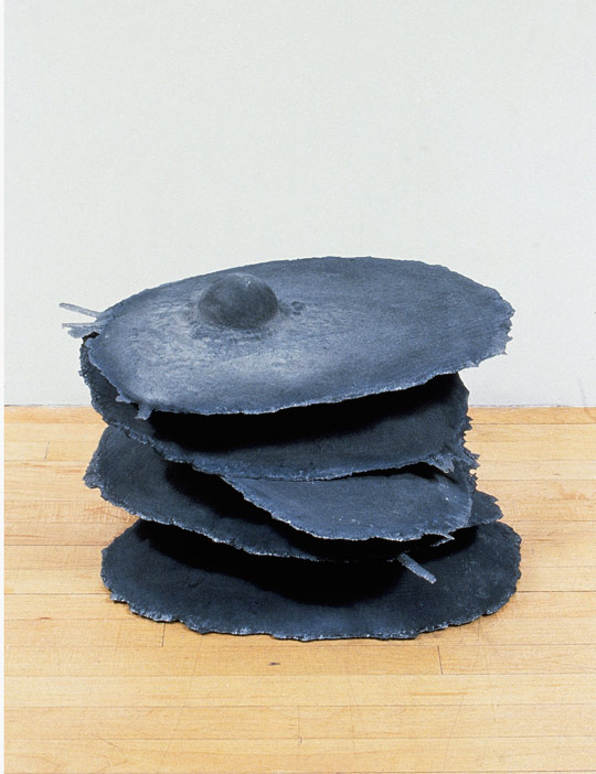 Stacked Eggs, 1991,   cast iron, 16 x 23 x 20 inches / 40.6 x 58.4 x 50.8 cm