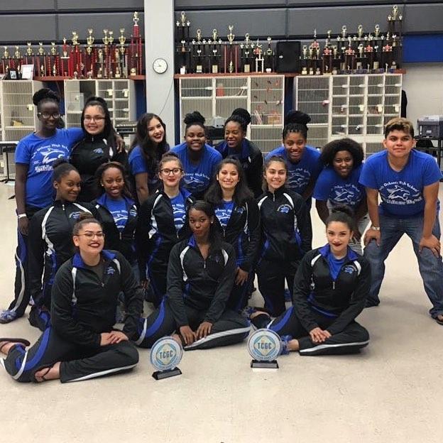 "@dekaney_guard 2017 (TX) - @txcgc Scholastic A ""Blue"" State Champions!  #winterguardsoundtracks"