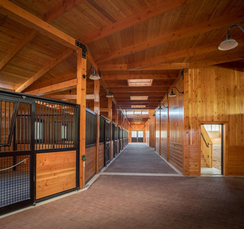 12' X 12' Box Stalls -