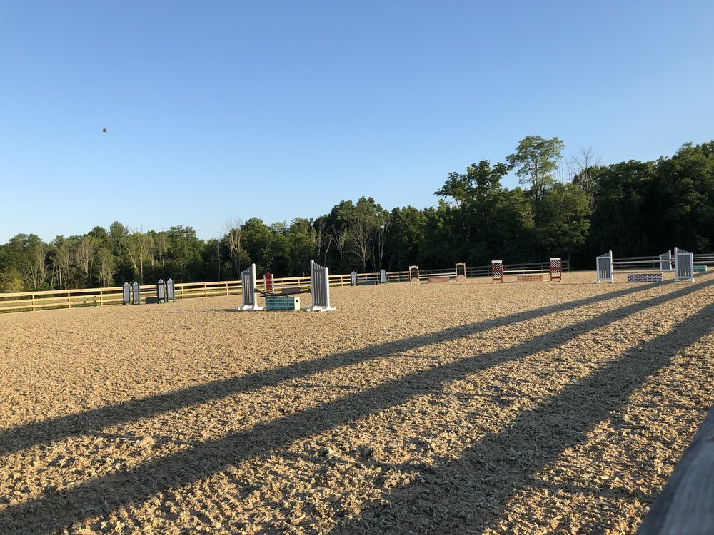 140' X 250' Outdoor Arena  with S.R.S. Footing -