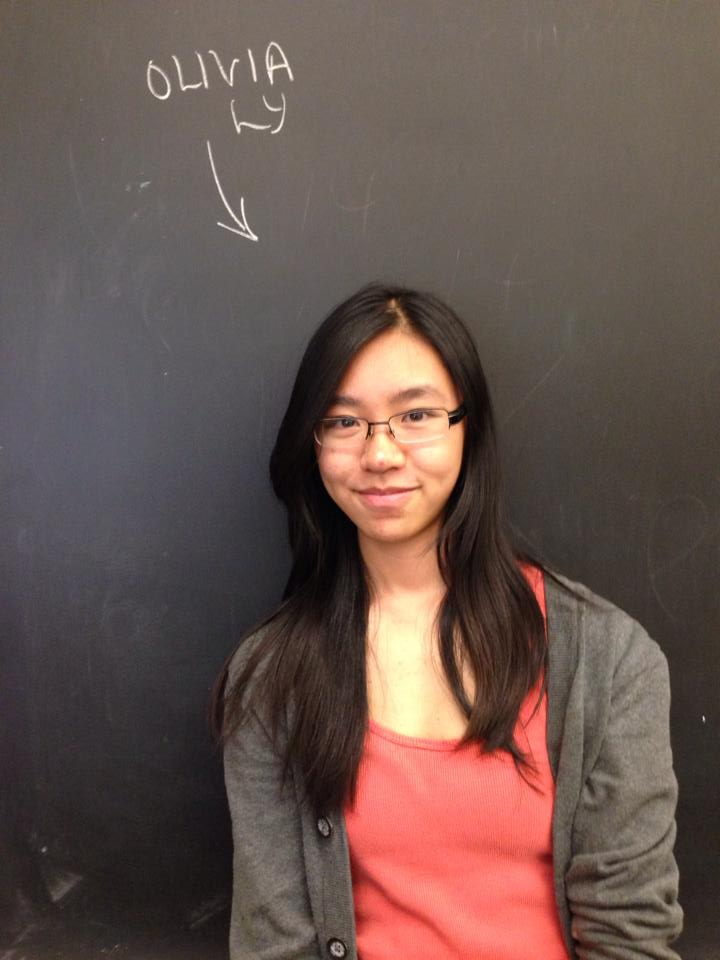 Olivia Ly ~  Brain Bee Competitor