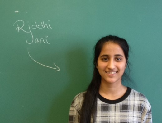 Riddhi Jani ~ Bright Lights Scholar