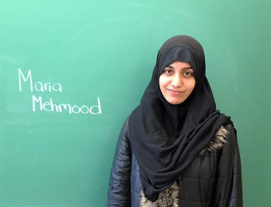 Maria Mehmood ~ Bright Lights Scholar