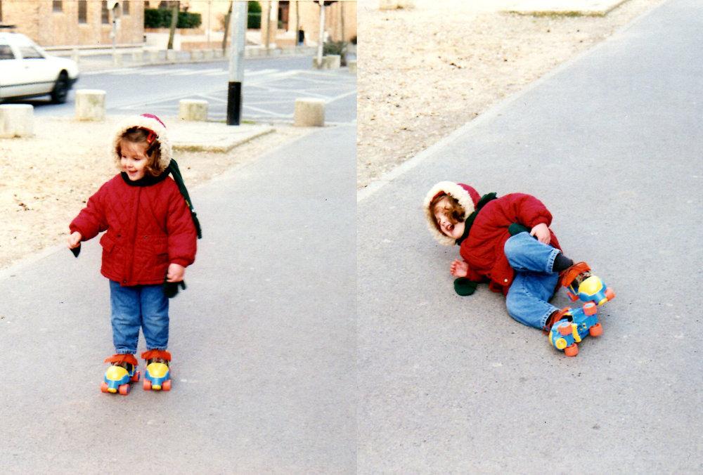 Très jeune déjà, j'apprenais de la pire des manières que la vie est une chienne parfois, mais qu'il faut toujours se relever.