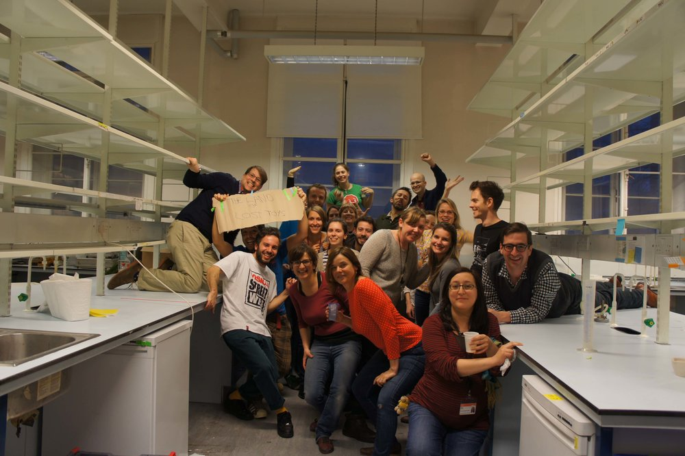Lab move and demolition party — Zebrafish UCL