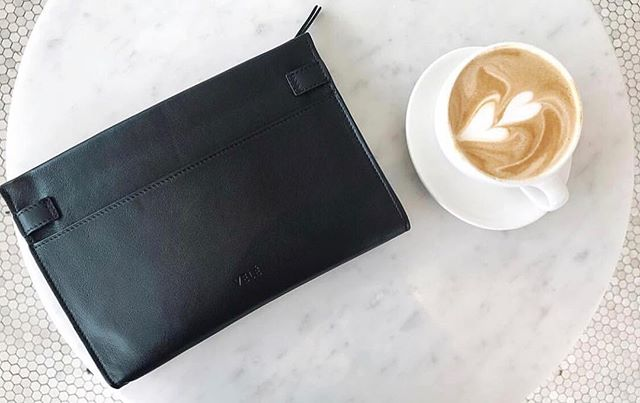 Prepping for the day with the essentials: coffee and the Cross-Body Clutch 😘. . . . . . . #ethicalfashion #madeinspain #slowfashion #sustainablefashion #luxuryleather #socialenterprise #Fairtradefashion #thatsdarling #liveconsciously #ethicalootd #ethicalstyle #liferightnow #bethechange#theartofslowliving #darlingmovement #pursuepretty#nothingisordinary #seekthesimplicity #fashionrevolution #fashiongoals #flashesofdelight #fewerbetterthings #theeverygirl #intentionalliving #ethicalshopping #ethicalconsumer #travelstyle