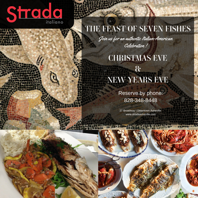 Feast of Seven Fishes at Strada Italiano Asheville
