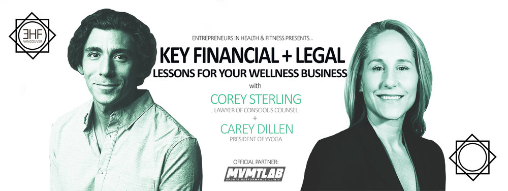Key Financial Legal Lessons For Your Wellness Business