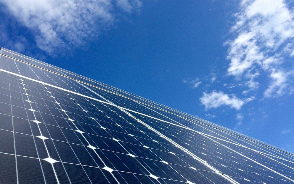 NSPG Solar Tracker Array