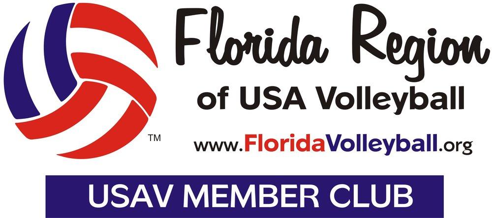 Florida region USAV logo