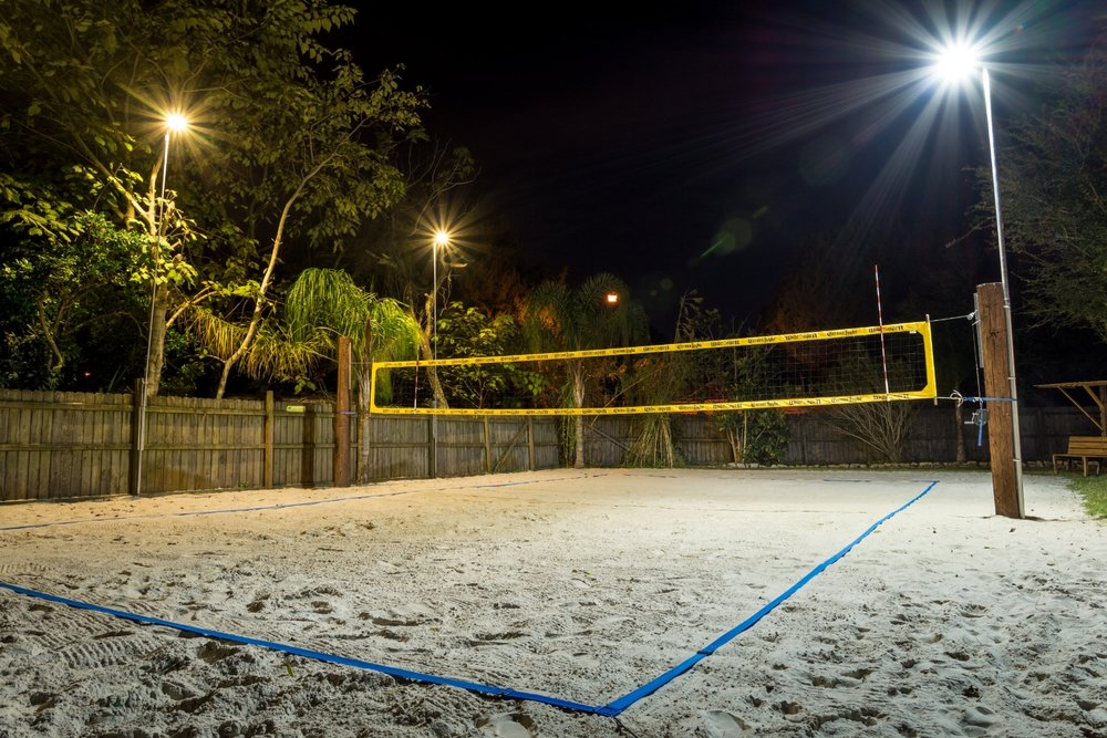 Jacksonville beach volleyball residential court