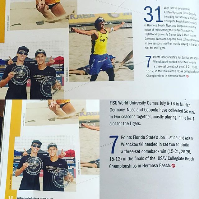 Local North Florida guys @adamwienckowski and @jonjustice9272 doing it again for @floridaregion and @fsubeachvolleyball !!! Making it in this months @digmagazinevb  #teamusa #trainwithbest #letsgooooo #bringhomethegold