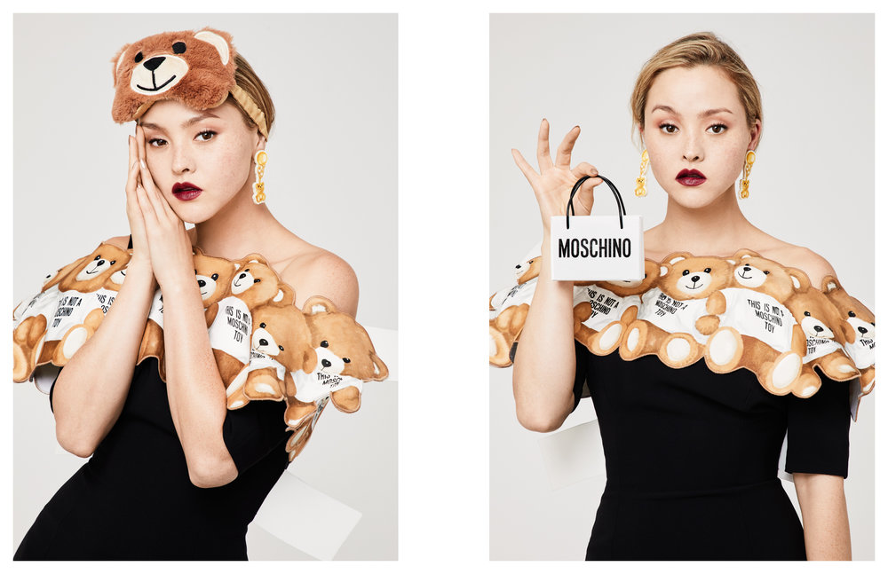 Devon Aoki for Sephora x Moschino, 2017