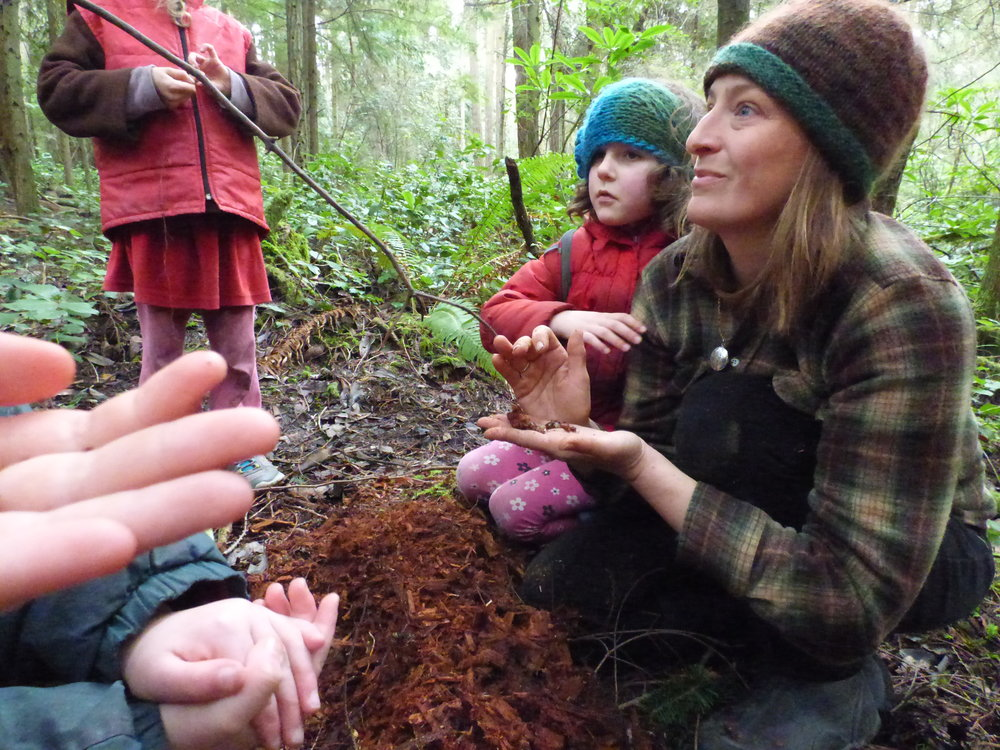 Bring your child outside and into the woods. Camps, dates & details -