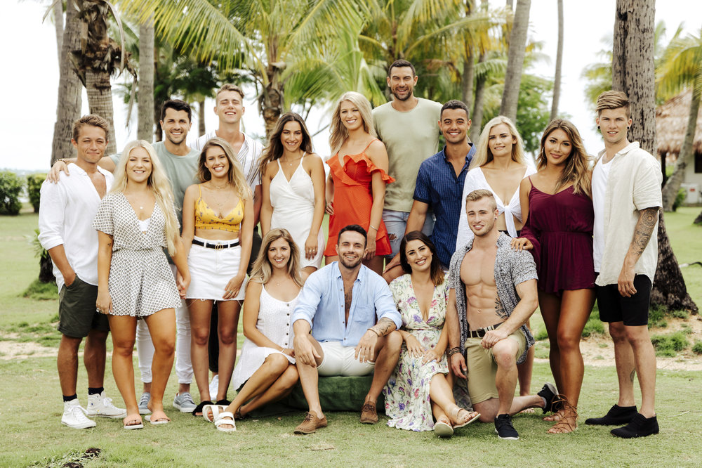 The cast of Heartbreak Island 2018