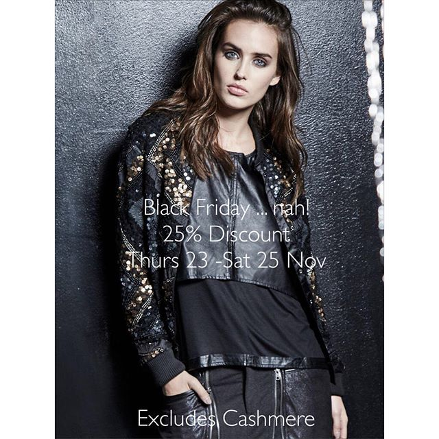 25% off Promotion #startsthursday #untilsaturday #salcombe #wecanpost #partywear #knits #jeans #wintercoats #fabboots #getyourpressies #excludescashmere #shoplocal #shopindependent #betterthanmultiples