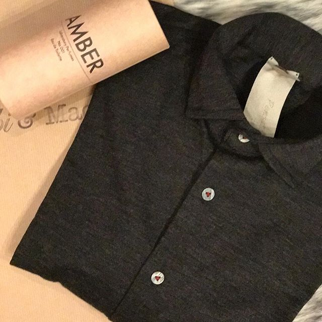 Don't forget the men. Merino shirt in graphite from Italy . Amber fragrance #instorenow #wecanpost #makehimstylish #guiltfree #christmasideas #salcombe #macsgeneralstore