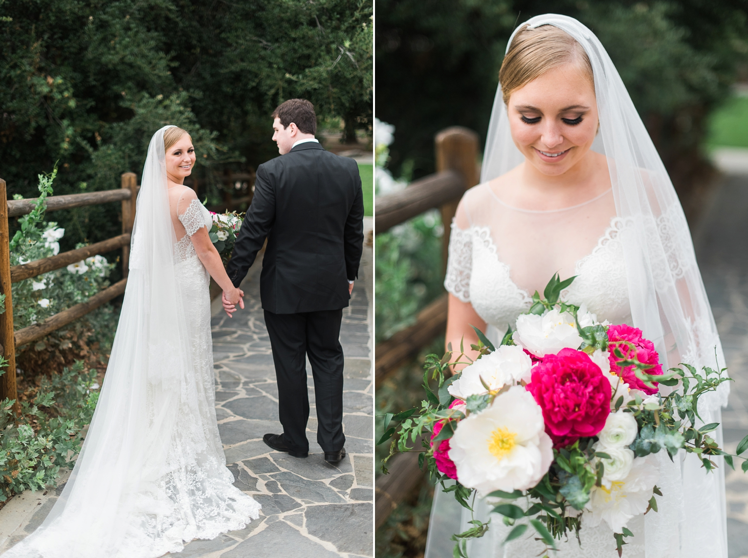 Fuchsia and Gold OC Wedding | Brandi Welles Photographer_0014