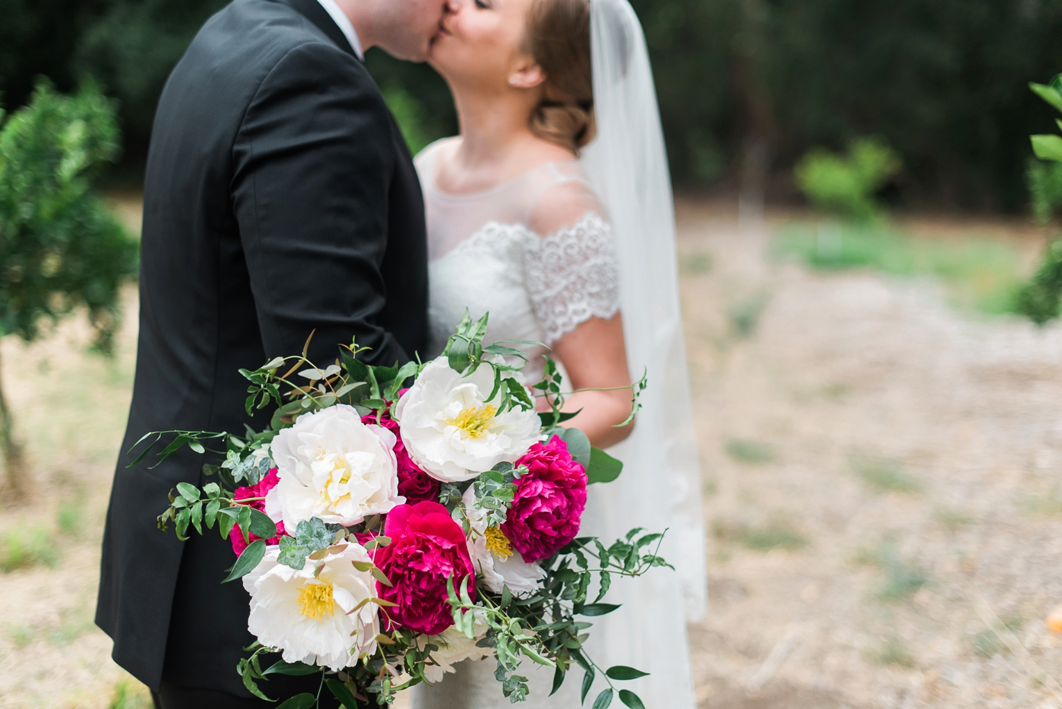 Fuchsia and Gold OC Wedding | Brandi Welles Photographer_0018