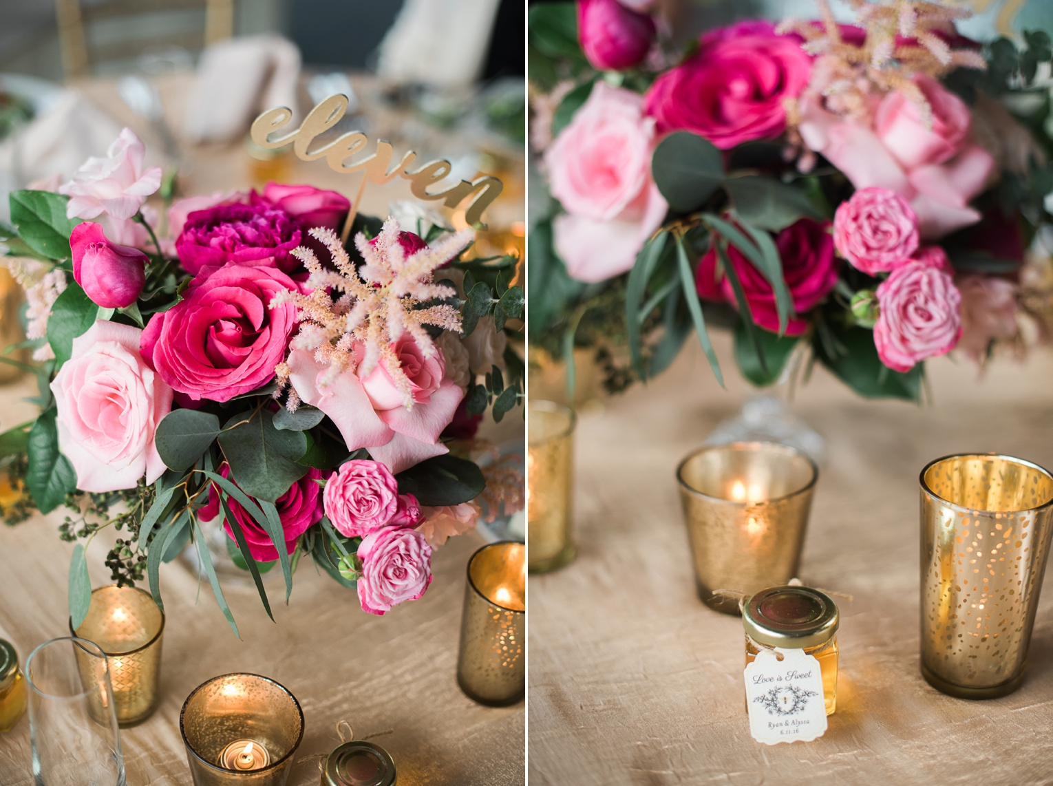 Fuchsia and Gold OC Wedding | Brandi Welles Photographer_0023
