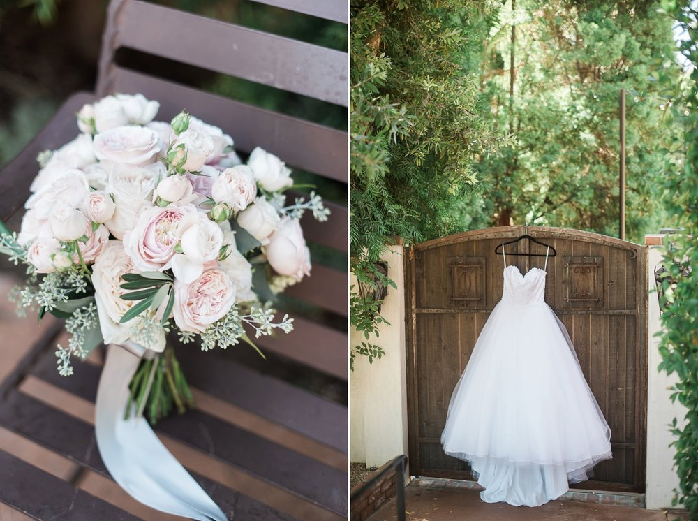 Picturesque Franciscan Gardens Wedding