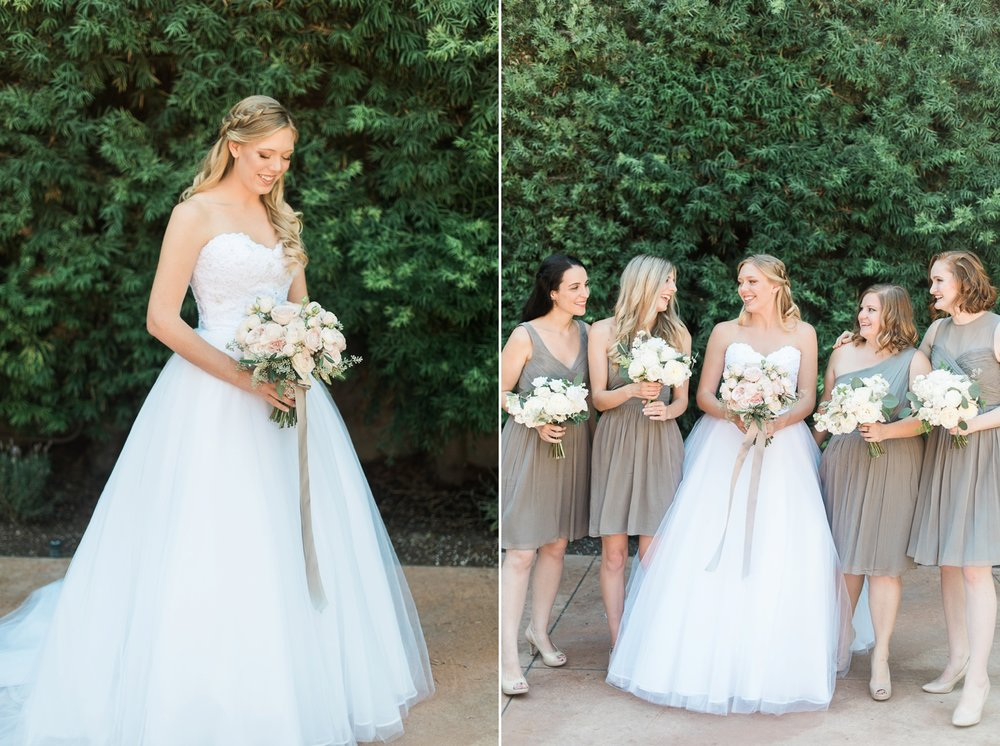 Picturesque Franciscan Gardens Wedding Flowers
