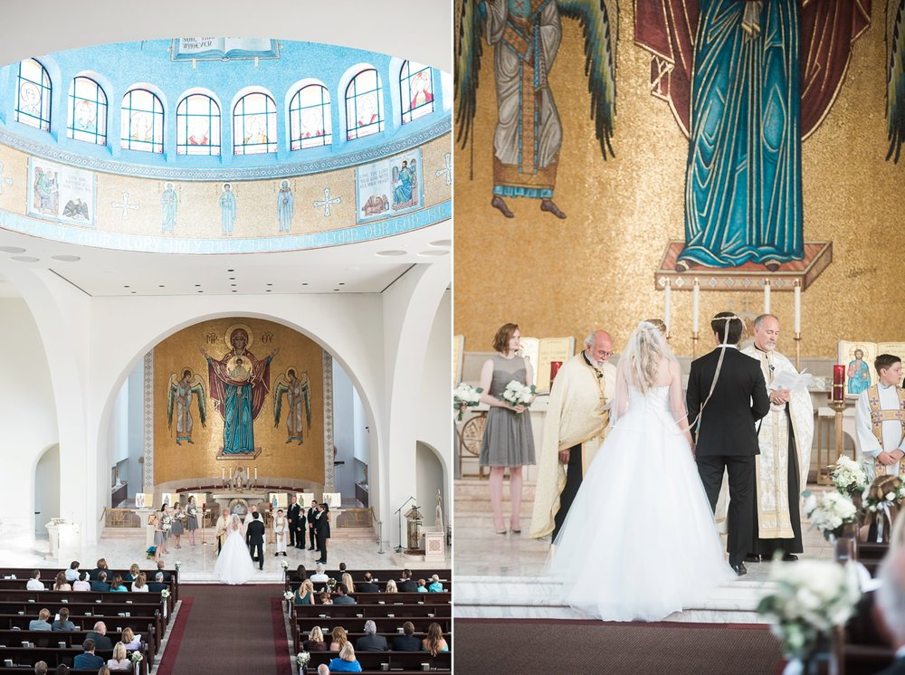 Picturesque Franciscan Gardens Wedding Greek Church