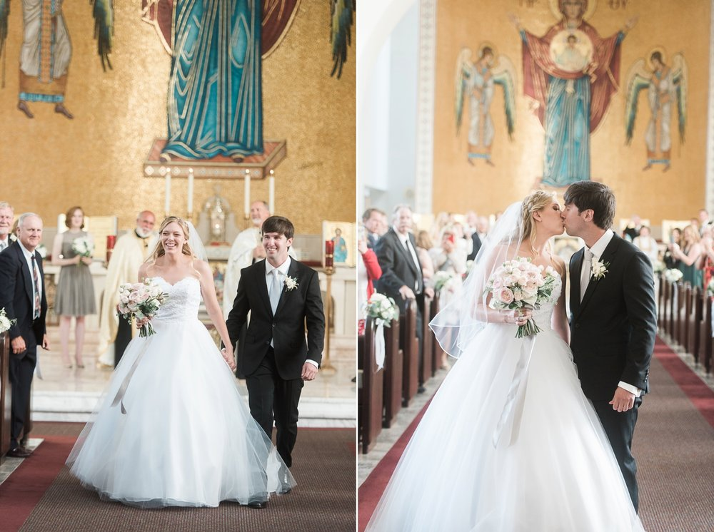 Picturesque Franciscan Gardens Wedding First Kiss