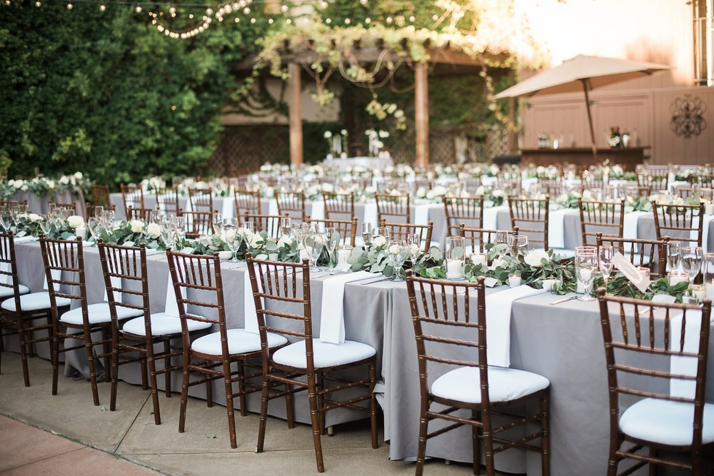 Picturesque Franciscan Gardens Wedding Rustic