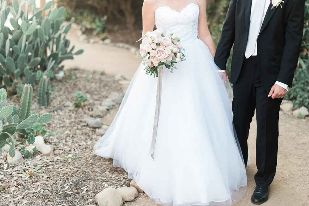 Picturesque Franciscan Gardens Wedding Bridal Bouquet