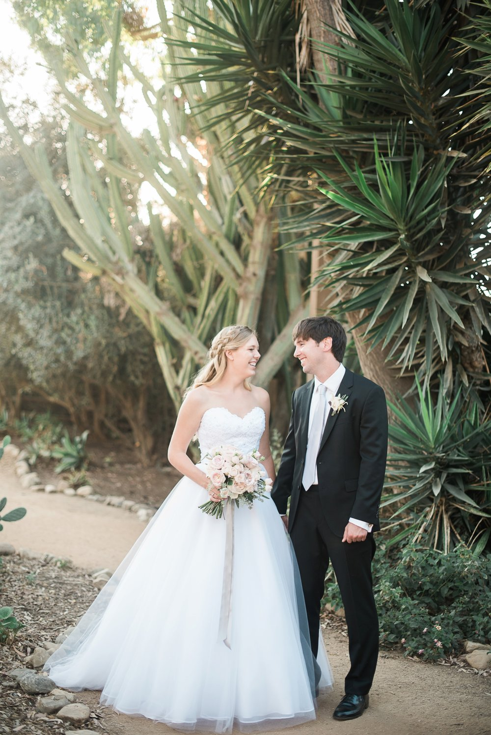 Picturesque Franciscan Gardens Wedding Trees