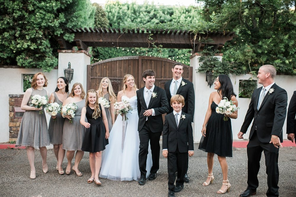 Picturesque Franciscan Gardens Wedding Family