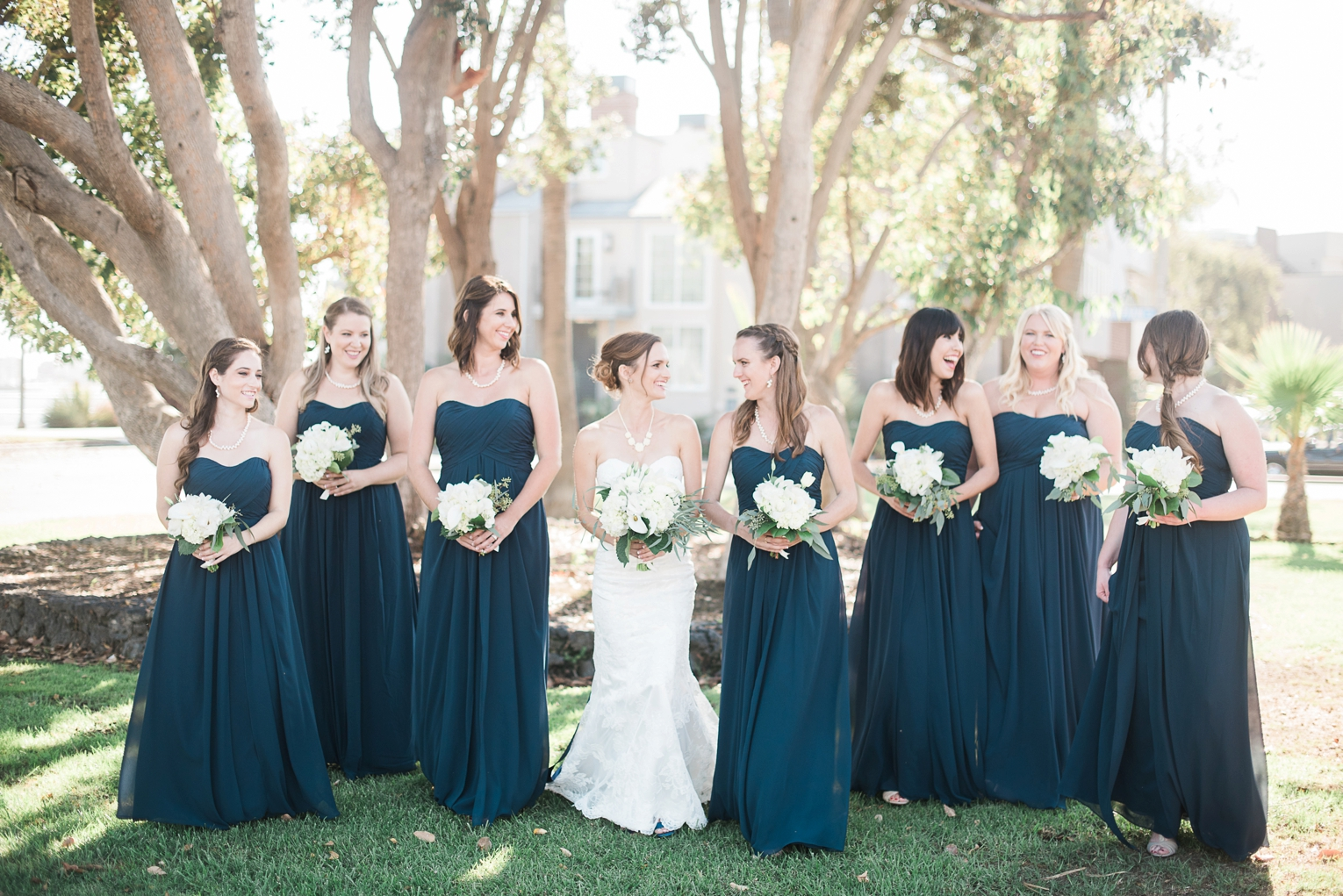 Long Beach Yacht Club Wedding Bridesmaid