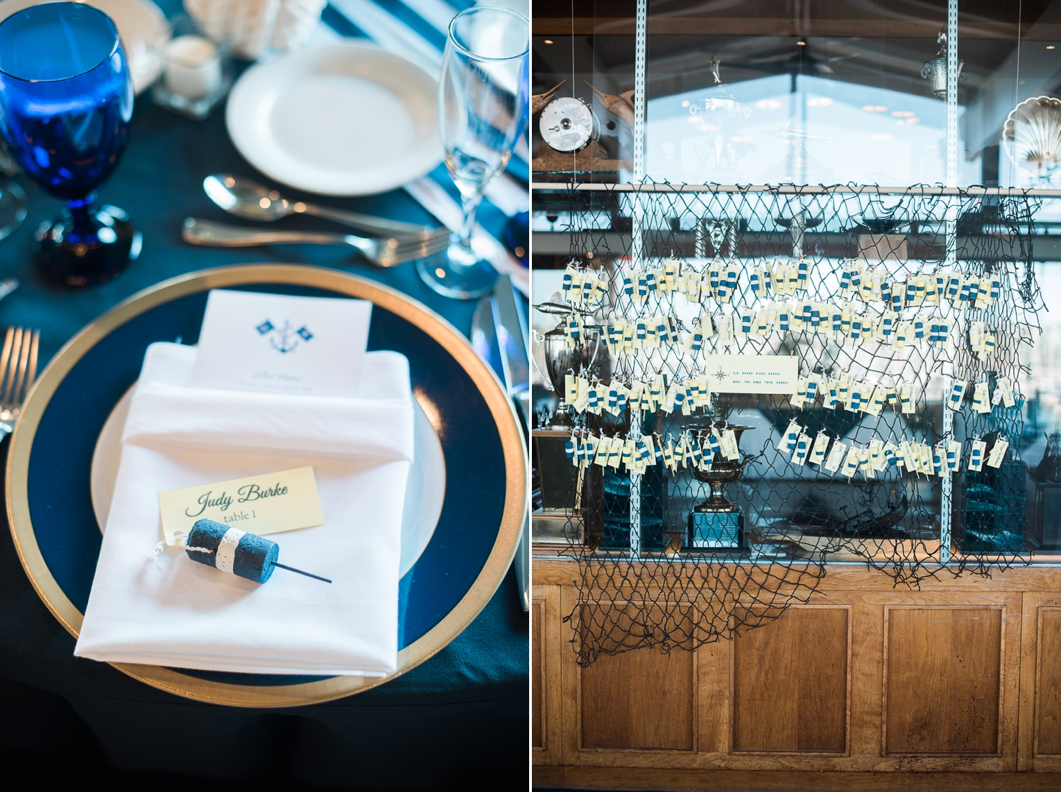 Long Beach Yacht Club Wedding Nautical