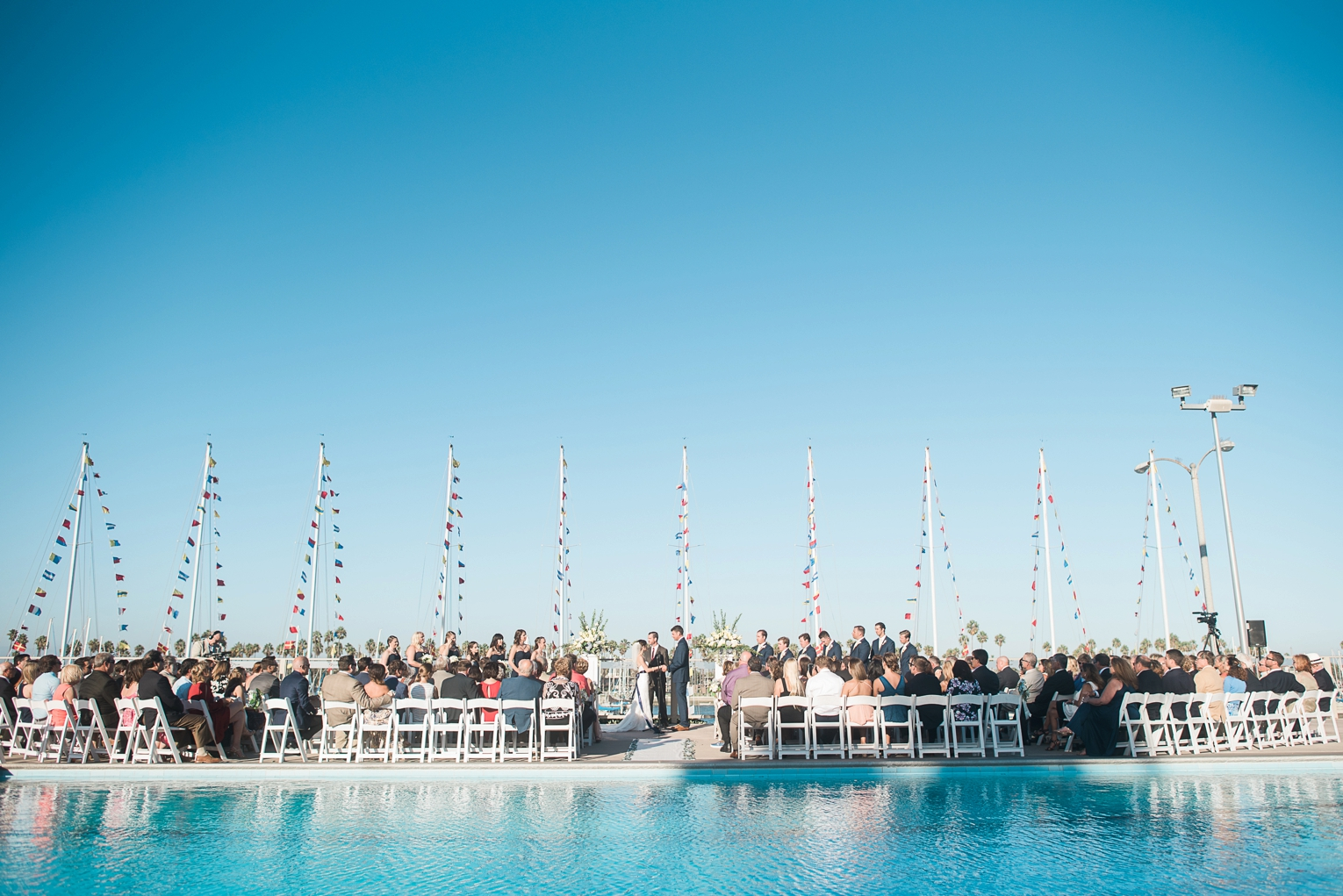 Long Beach Yacht Club Wedding Photo