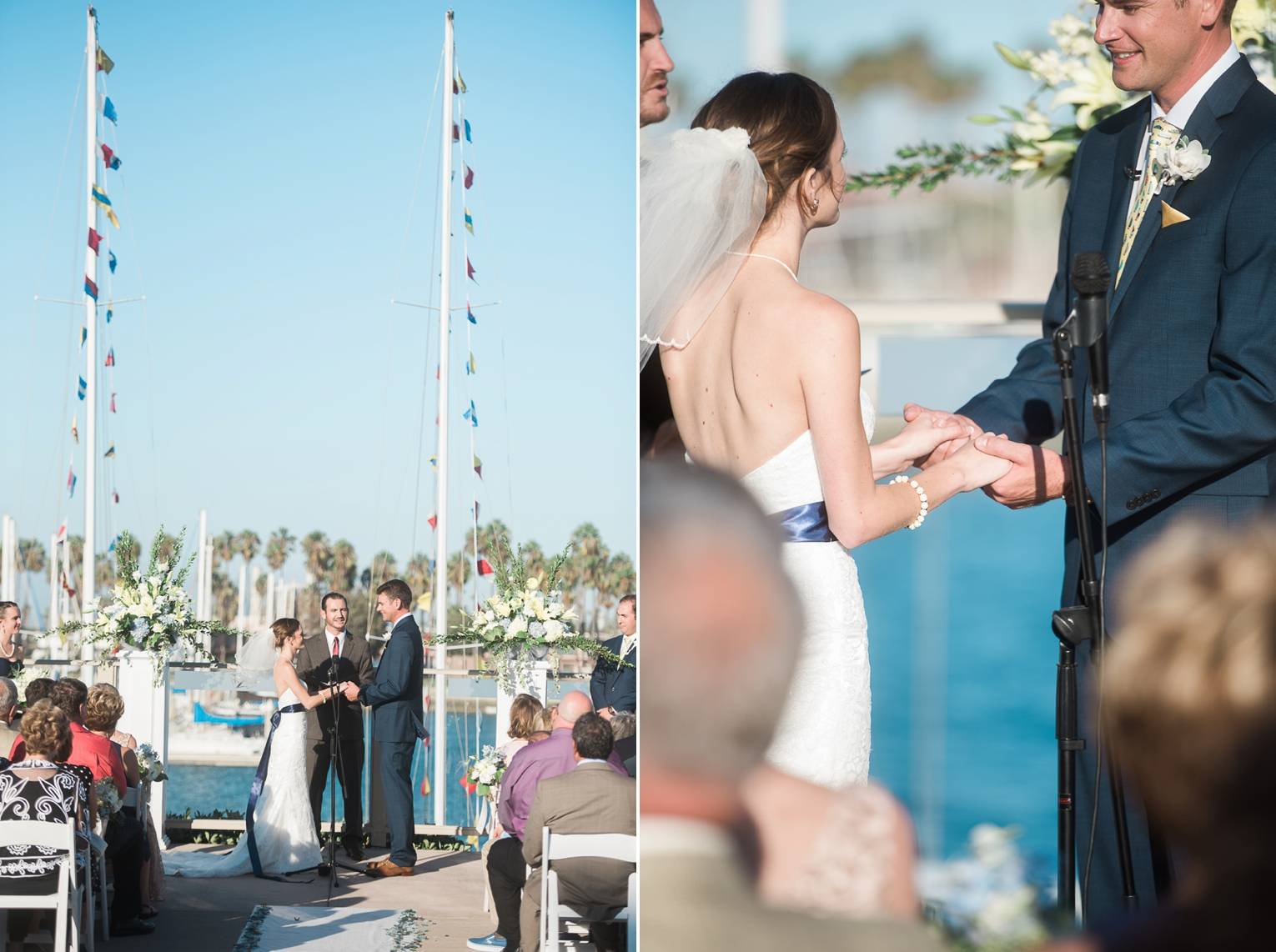 Long Beach Yacht Club Wedding Vows