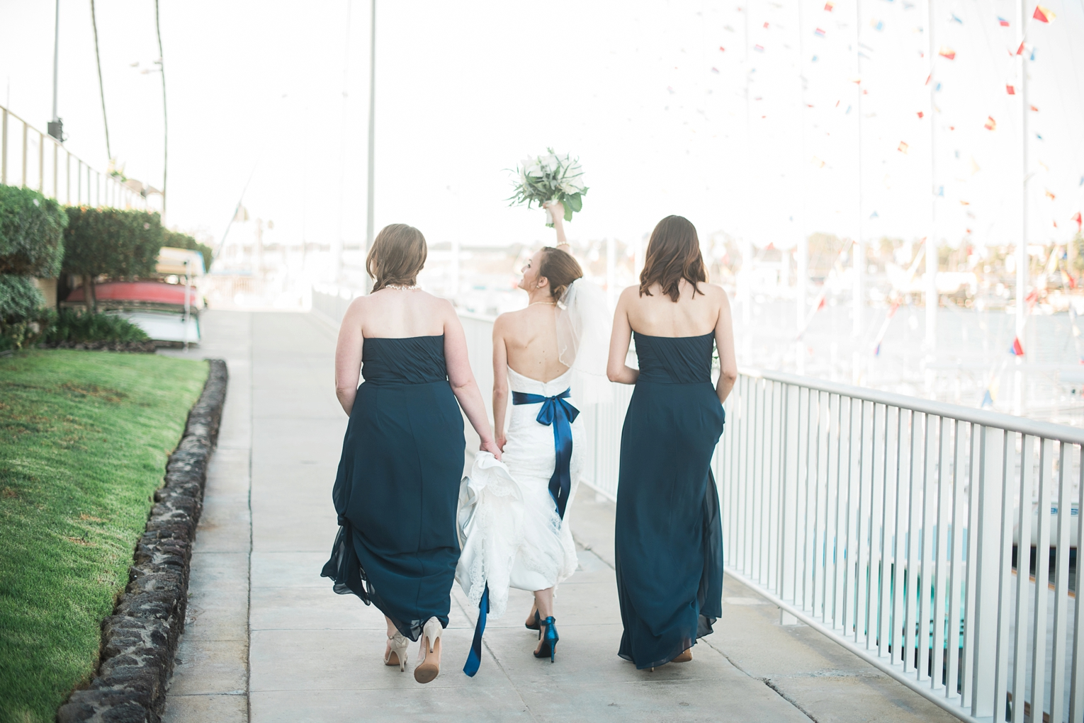 Long Beach Yacht Club Wedding Friends