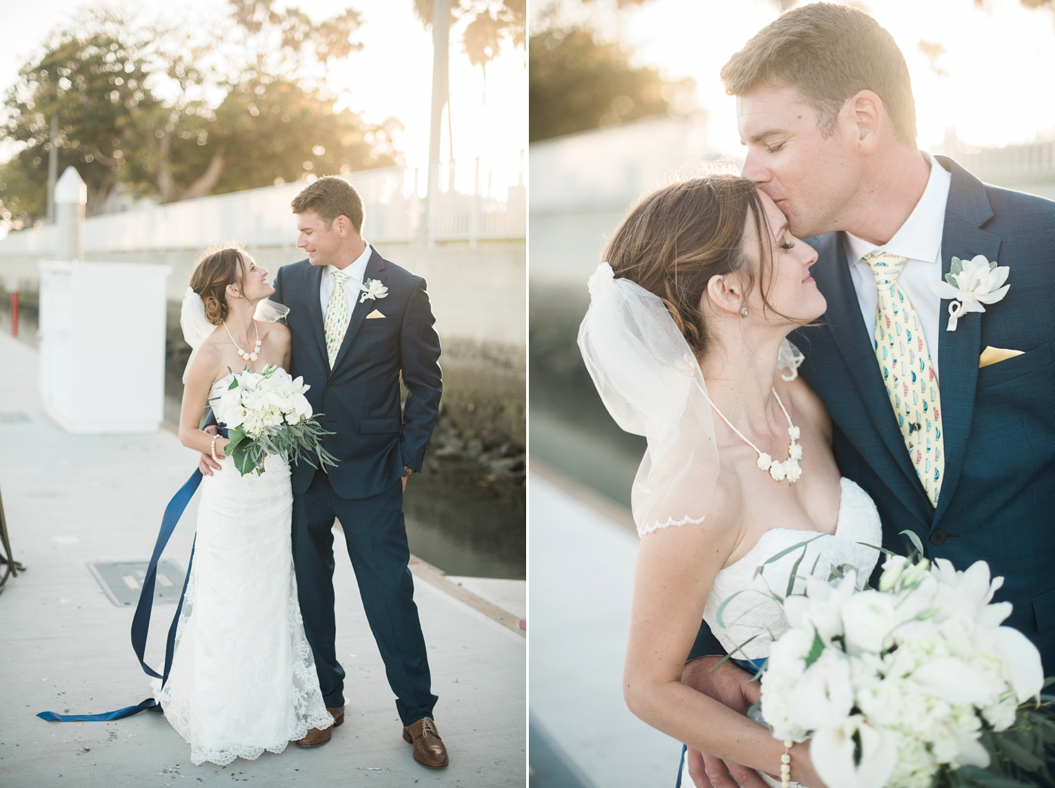 Long Beach Yacht Club Wedding Close Up