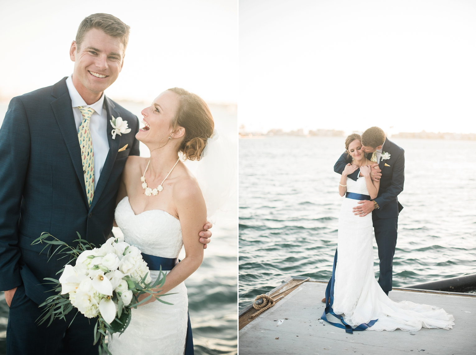 Long Beach Yacht Club Wedding Huggins